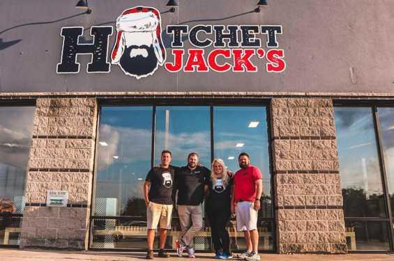 Hatchet Jack's Exterior