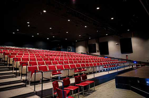 Old Creamery Theatre Seating