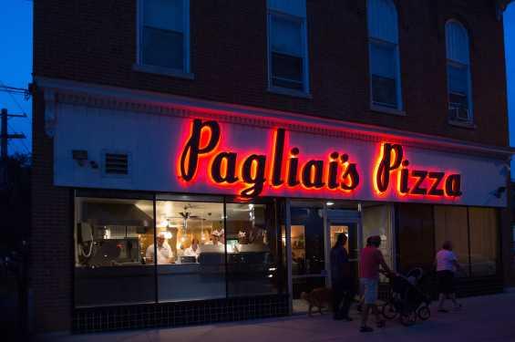 Pagliai's at Night