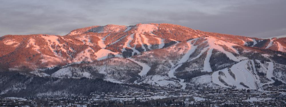 Alpen Glow on Steamboat Resort