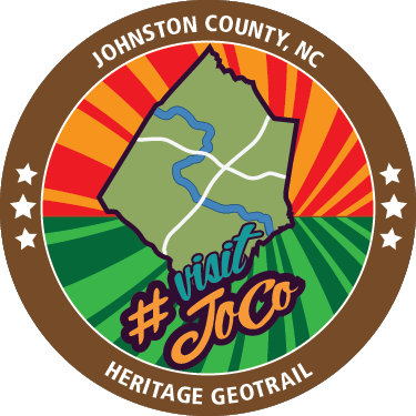 Johnston County Heritage Geotrail Geocoin