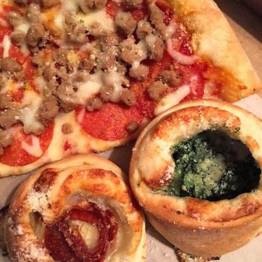 Pizza at New York Pizza & Pasta