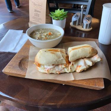 The Beehive sandwich soup