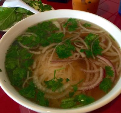 Bowl of Pho at Pho Four Seasons