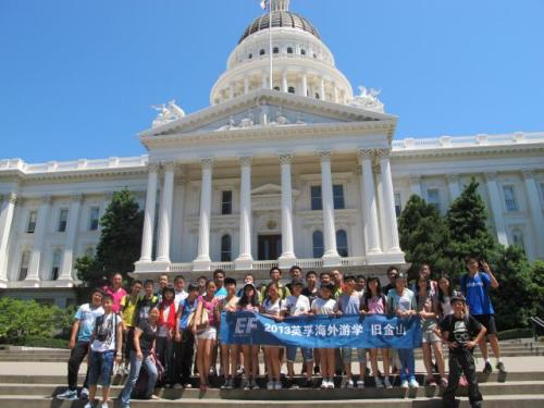 Students Tour the California State Capitol