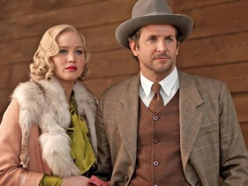 Jennifer Lawrence and Bradley Cooper in Serena