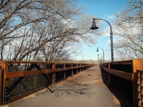 High Bridge in Eau Claire, Wisconsin