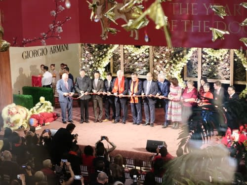 South Coast Plaza Lunar New Year Ribbon Cutting