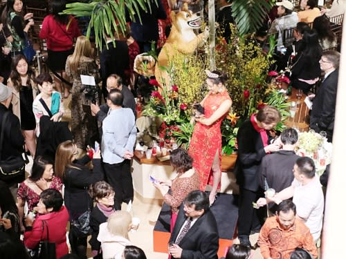 South Coast Plaza Lunar New Year Party