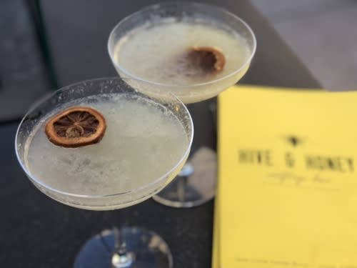 Bees Knees Cocktails at Hive & Honey