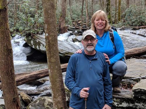 Jonna at Catawba Falls