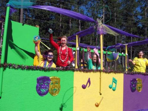 Krewe of Chahta - Lacombe Mardi Gras