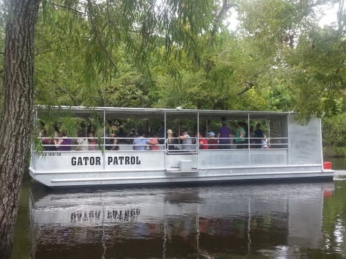 Cajun Pride Tour Boat on The Water