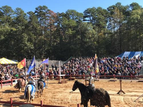 Jousting at Carolina Renaissance Festival