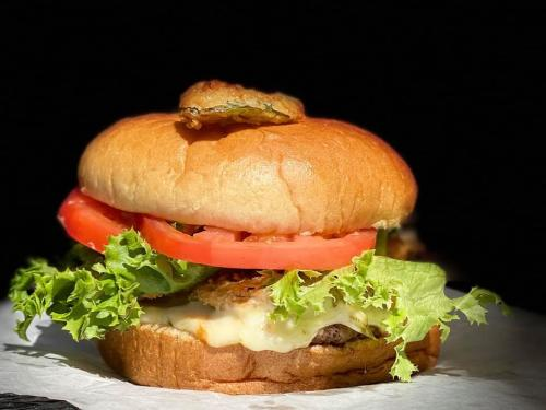 Pinky's Diablo Burger