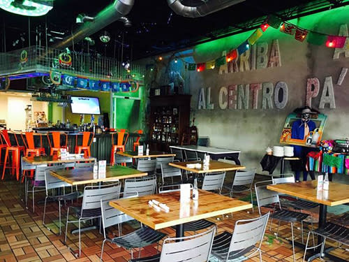 Gordo's Tacos and Tequila interior