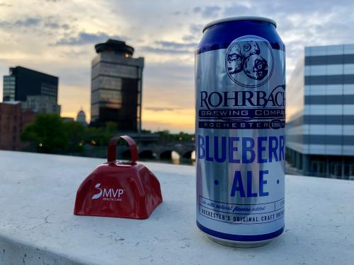 Rohrbach Beer at Rochester Twilight Criterium in Downtown Rochester