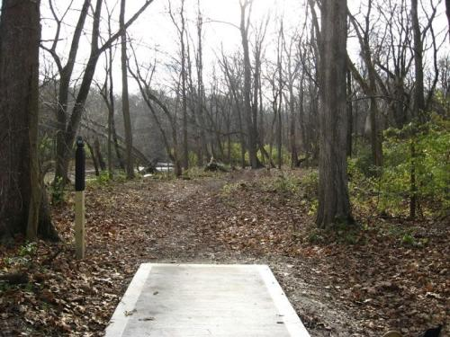 End Of Path In Twin Creek In Germantown, OH