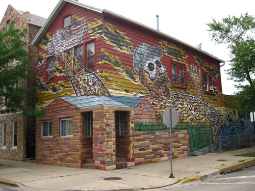 Hector Duarte's House in Pilsen, Chicago