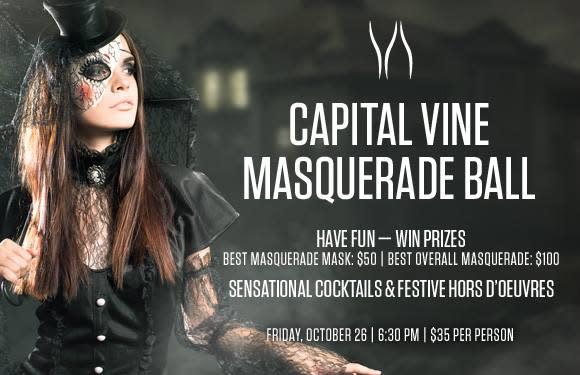 Capital Vine Masquerade Ball