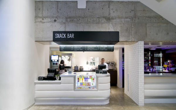 Snack Bar at the Violet Crown