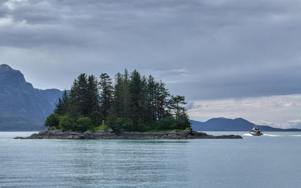 an island in Prince William Sound