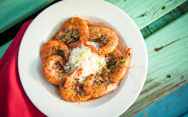 BBQ Shrimp at Fisherman's Corner