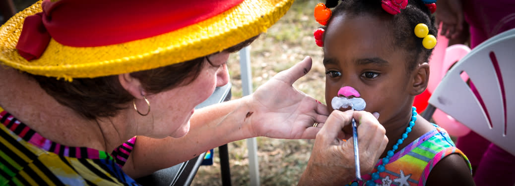 Harrisburg Summer Festivals Face Painting