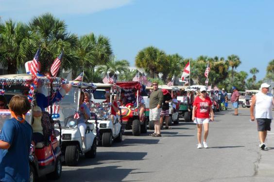 July 4th Golf Cart Parade