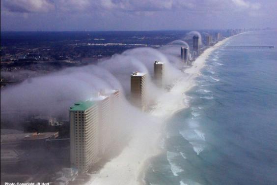 tsunami fog