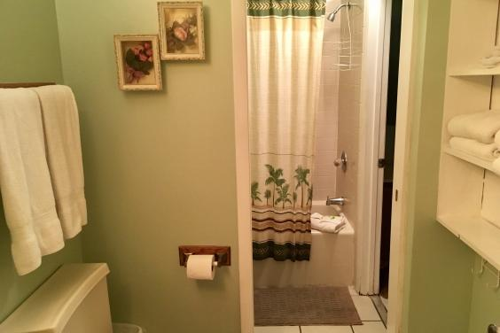1.5 baths convenient for a family