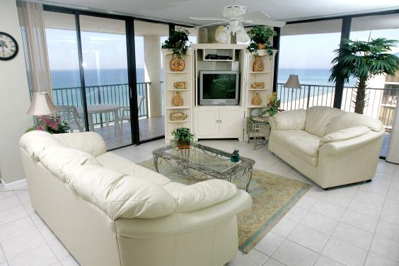 Aquavista Gulf Front Condo w/ Wrap Around Balcony