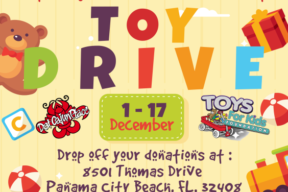 DCP Toys For Kids Toy Drive