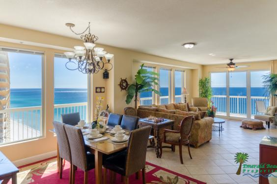 Beautiful beachfront condos
