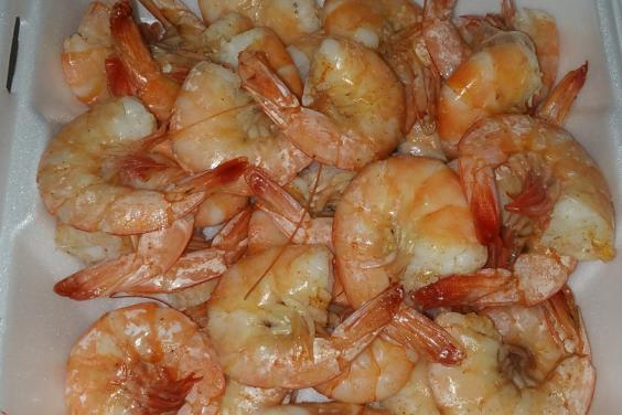 Cajun Steamed Shrimp