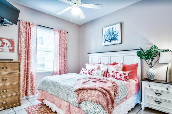 Beautiful downstairs bedroom with private bathroom!