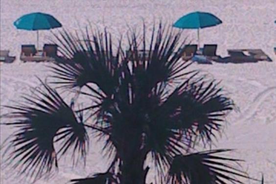 Beach from Aqua 207 Balcony