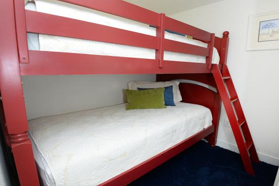 BUNK ROOM located in its own PRIVATE SPACE - not in a hallway like other units!