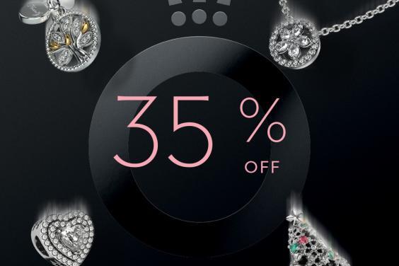 Pandora BLK FRIDAY 35% off