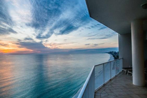 Sunset Balcony View
