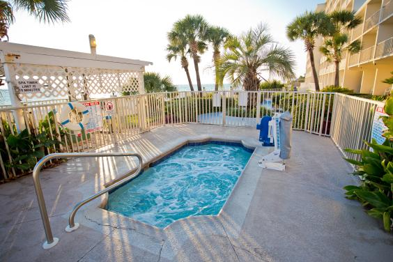 Beachside Resort Panama City Beach Hot Tub