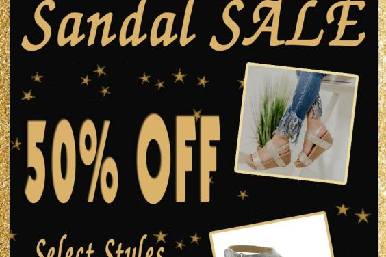 Volatile Sandal Sale 50% off Black Friday Deal