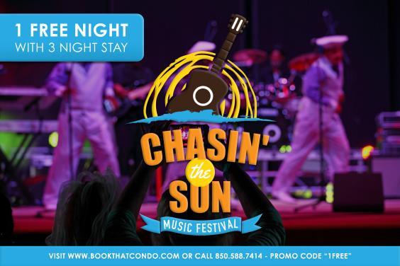Chasin' the Sun Music Festival Promo