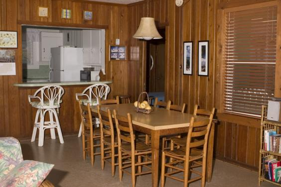 With ample seating, your whole family can enjoy a meal together!