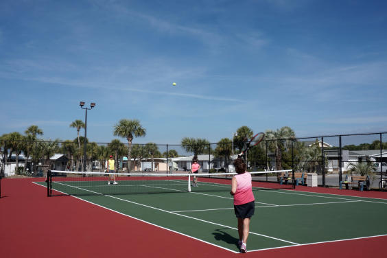 Venture Out Vacations Tennis courts