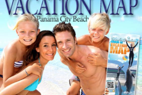 Panama City Beach Vacation Map