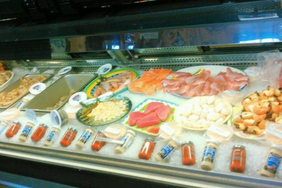 Fresh Seafood Selection at Anderson's Seafood Market