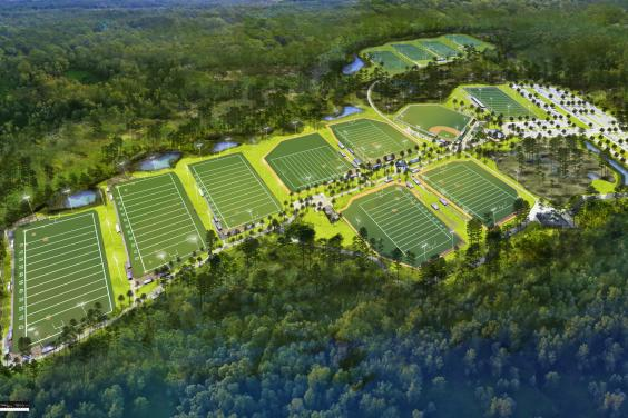 PCB Sports Park Football Fields
