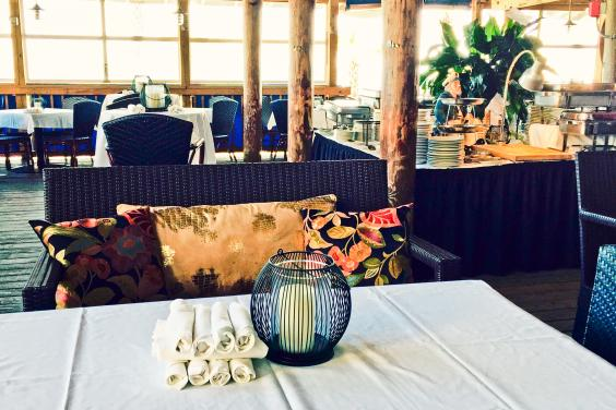Spinnaker Beachside Grill is the perfect place for your next event