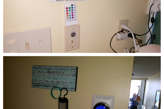 Smart thermostat and Remote for under cabinet lights